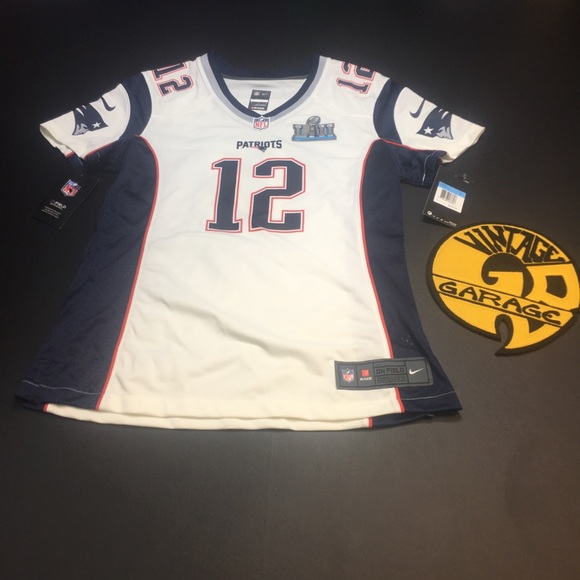 best service d282e a9502 Nike Patriots Tom Brady Super Bowl 52 Jersey Boutique